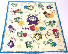 Japan Import DEKO BOKO FRIENDS-YANCHARU MONCHA Japanese anime manga Handkerchief