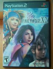 Final Fantasy X-2 (Sony PlayStation 2, 2003) hipster gamer anime ready to ship