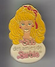 RARE PINS PIN'S .. ART JOUET TOY POUPEE DOLL CLUB LES AMIES DE BARBIE FRANCE ~DA