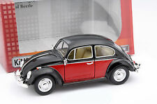 Volkswagen VW Classic Beetle Baujahr 1967 schwarz / rot 1:24 Kinsmart