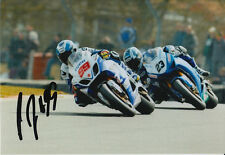 PJ Jacobsen Hand Signed 7x5 Photo Tyco Suzuki BSB.