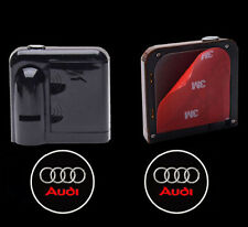 1Pair 5W Wireless Car LED Door Projector Logo Ghost Shadow Laser Lights for AUDI