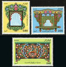 ALGERIE N°756/758** Arts traditionnels, 1982 traditional arts Mi 795/97 MNH