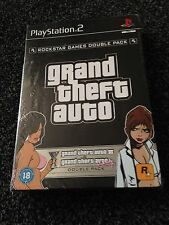 New & sealed Grand Theft Auto Double Pack III & Vice City   Playstation 2 ps2