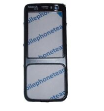 New Genuine Original Nokia N73 Black Front Cover Fascia Housing