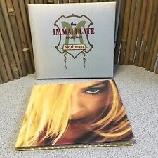 Madonna The Immaculate Collection Silk Digipak CD & LE Greatest Hits Vol 2 Book