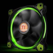 Thermaltake CL-F039-PL14GR-A Riing 14 High Static Pressure GreenLED Radiator Fan