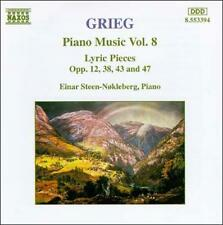 Grieg: Piano Music, Vol. 8, New Music