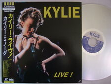 KYLIE MINOGUE LIVE / LASER DISC WITH OBI