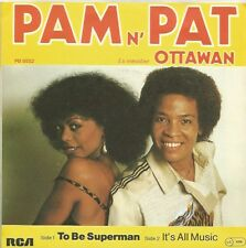 Pam N' Pat - To Be Superman / It's All Music (Vinyl-Single 1981)