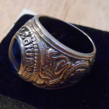 SOLID 10K WHITE GOLD CLASS RING 27.8 GRAMS DIEGES CLUST CANISIUS COLLEGE BUFFALO