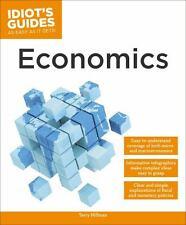 Idiot's Guides: Economics : Economics by Terry Hillman (2014, Paperback)