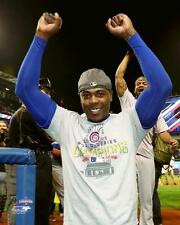 "2016 WORLD SERIES Aroldis Chapman ""WINS Game 7"" Chicago Cubs LICENSED 8x10 photo"
