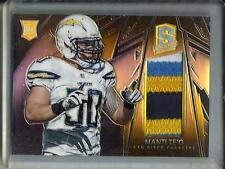 Manti Te'O 2013 Panini Spectra Game Used Jersey Patch Rookie #09/10