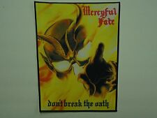 MERCYFUL FATE DON'T BREAK THE OATH SUBLIMATED BACK PATCH