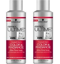 Lot of 2 Schwarzkopf Ultime Diamond Color & Radiance Shine Boost Tonic 3.4 oz x2