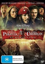 ●● PIRATES OF THE CARIBBEAN At World's End ●● (DVD, 2009) Single Disc Edition