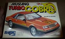 MPC FORD MUSTANG TURBO COBRA 1/25 MODEL CAR MOUNTAIN KIT 1979OPEN