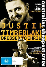 Justin Timberlake - Dressed To Thrill DVD NEW, FREE POSTAGE WITHIN AUST REGION 4