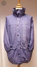 Berghaus Womens Blue Aquafoil Lightweight Waterproof Hooded Raincoat, UK 16