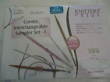 Knitter's Pride Comby Interchangeable Circular Needles - New Sampler set I