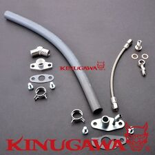 Kinugawa Turbo Oil Feed & Return Line TOYOTA 3S-GTE 3SGTE ST165 Celica Gen 3 / 4