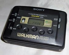 Sony, Walkman WM-FX443 [ Radio FM/AM Cassette Player ]  Black