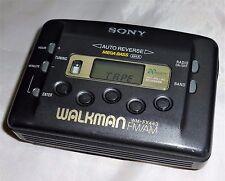 Sony, Walkman WM-FX443 [radio FM/AM reproductor de cassette] Negro