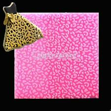 Leopard Lace Silicone Mold Fondant Cake Candy Petal Pastry Chocolate Mould