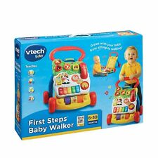 VTech First Steps Baby Walker Detachable Learning Centre BRAND NEW FUN GIFT NEW