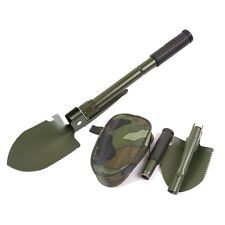 Multi-function Portable Folding Shovel Survival Spade Trowel Dibble Camping Yard