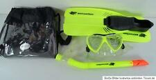 NEW MAUI AND SONS immersioni subacquee attrezzature Set Verde UK 5-6 (EU 39-40)