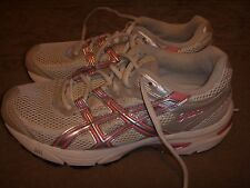 Asics Gel-Virage TQ874 Pink/White Womens Size 7