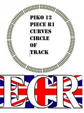 PIKO G SCALE BRASS METAL TRACK CIRCLE 12R1 CURVES FITS LGB BACHMANN 45mm GAUGE