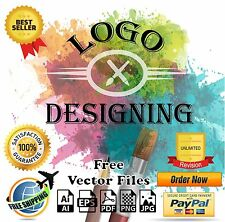 Professional Custom Logo Designing Service - Unlimited Revision - Vector File