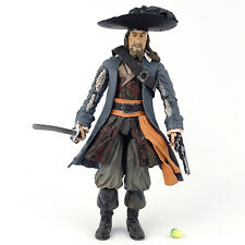 """Pirates of the Caribbean At World's End BARBOSSA 6"""" Action Figure Disney 2007"""