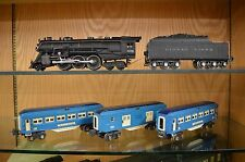 Lionel 226E Loco & 2226W Tender With 2613, 2614 & 2615 Cars in Two Tone Blue