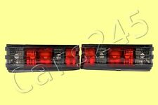 MERCEDES 190 W201 1980-1991 Rear Lamp Tail Lights Clear Smoke PAIR