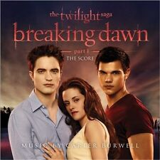 The Twilight Saga: Breaking Dawn, Pt. 1 [The Score] by Carter Burwell (CD,...