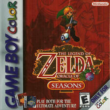 Legend Of Zelda Oracle Of Seasons Gameboy Color Great Condition Fast Shipping