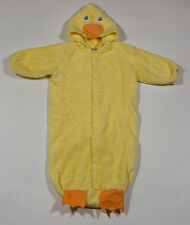 THE CHILDRENS PLACE 6-12M DUCK CHICK SLEEPING BAG SACK COSTUME EASTER 6M 9M 12M