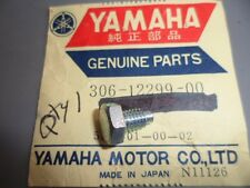 NOS Yamaha Cylinder Decompression Stopper Bolt 1972 XS2 1973 TX650 306-12299-00