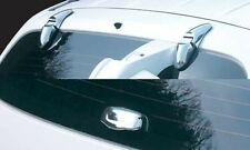 For Hyundai Santa Fe 2001 - 2006 Chrome Rear Window Trim Set (3 piece set)