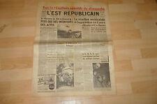 L'EST REPUBLICAIN     TOUS LES RESULTAT SPORTIFS DU DIMANCHE 1950