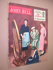 JOHN BULL MAGAZINE. MARCH 12th 1955. VINTAGE MAGAZINE.