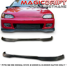 92 93 94 95 Honda Civic EG 2DR 2D Coupe TR Front & Rear Bumper Lips