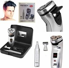 MENS PERSONAL 3 HEAD HAIR REMOVER TRIMMER CLIPPER SHAVER CUTTER FACIAL BODY NEW
