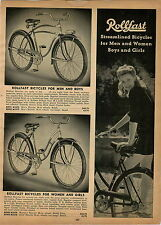 1947 PAPER AD Rollfast Bicycle Michiana Flyer Irish Mail Scooter Pedal Car