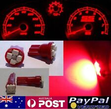 Red LED Dash Gauge Light Kit - Suit Navara D22 1998-2005