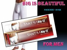 """TANTRA BIG 12"""" 30gm Big Is Beautiful The Power of Man Penis Cream no side effect"""
